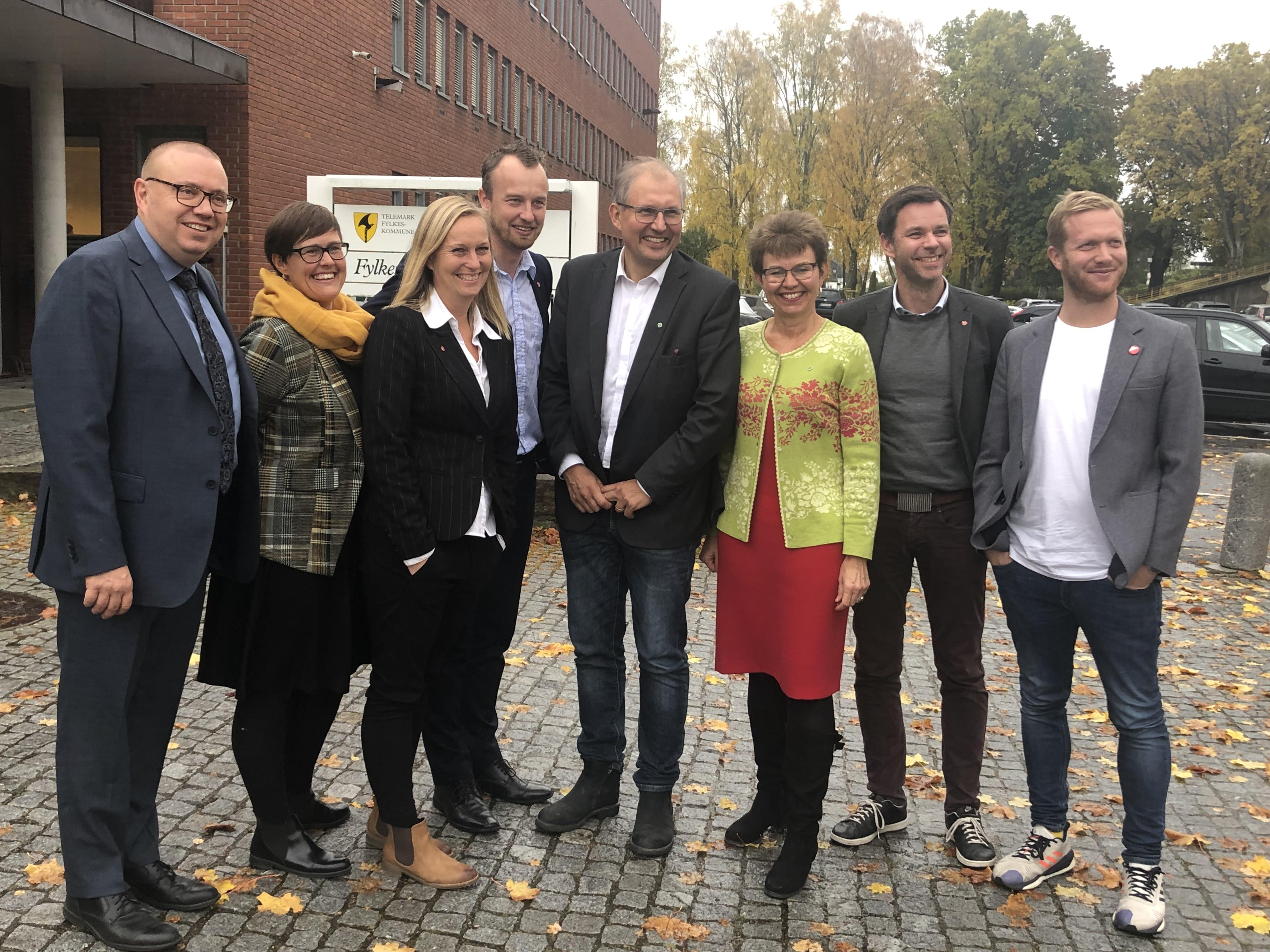 Sparker i gang rødgrønt samarbeid i Vestfold og Telemark